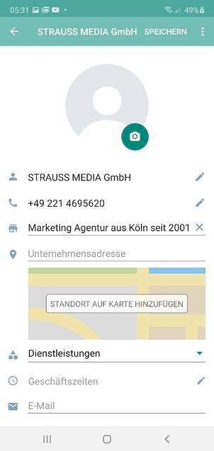 WhatsApp Business Start
