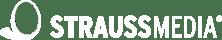 Freigestelltes weißes Logo